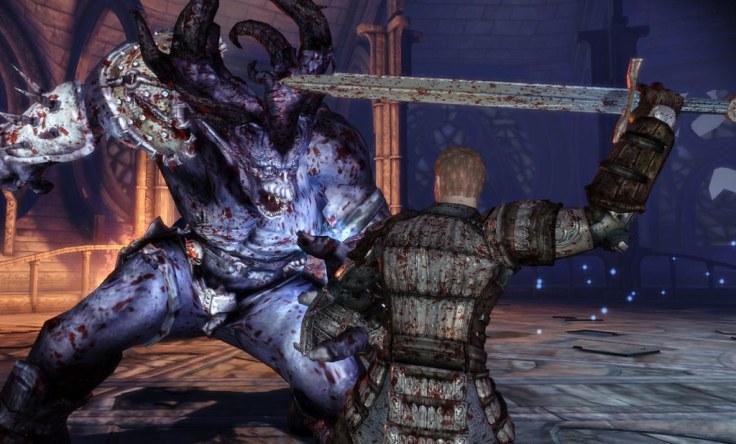 Dragon Age Origins Combat scene 2