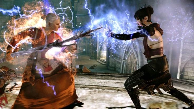 Dragon Age Origins Combat scene